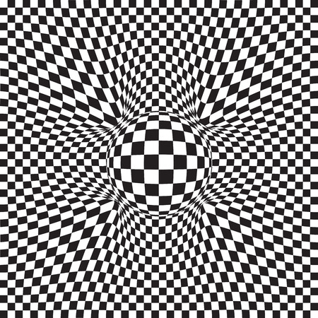 jitter: Vector abstract squared pattern - geometric figure