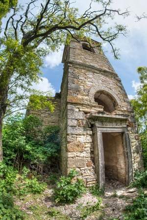ruinous: Ruins of the Church of St Wenceslas, Hrusovany