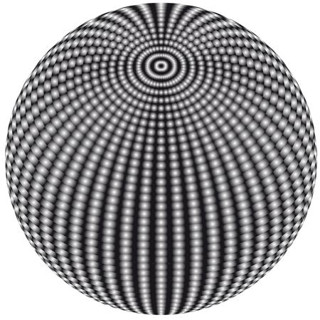 jitter: Abstract vector ball