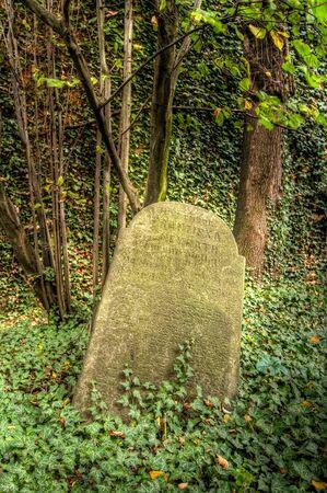 Old Jewish cemetery at Kolin