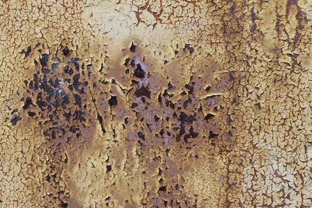 rusty metal texture: Old rusty metal texture - flaky paint Stock Photo