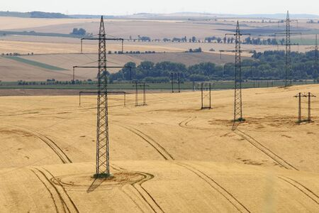 conduction: Pylons in the fields