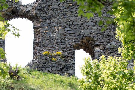 fortify: Ruins of the Kostalov Castle on Kostalov Hill