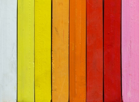 colores calidos: Detalle de los pasteles - gama de colores cálidos Foto de archivo