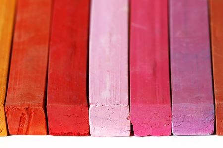 colores calidos: Pastles - range of warm colors
