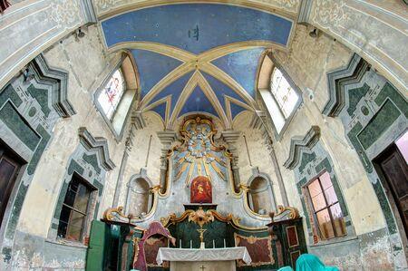 visitation: Ruins of the Church of the Visitation - Skoky