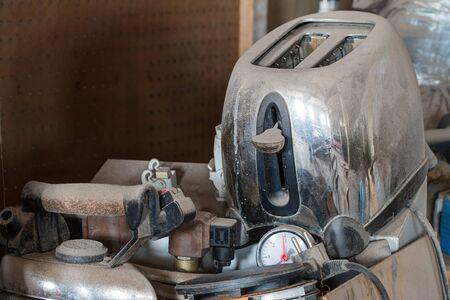 useless: Abstract image - old useless stuff - old junk