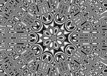 pulsar: Abstract pattern - kaleidoscopic pattern