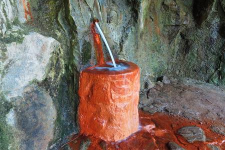ferruginous: Mineral water spring - ferruginous water