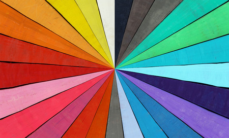 gamut: Abstract image of the color range - spectrum Stock Photo