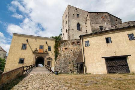 gothic castle: Buchlov castle  - famous Gothic castle