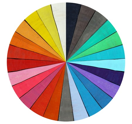 Abstract image of the color range - spectrum Stock Photo