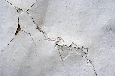 weatherworn: Cracks in plaster - grunge texture