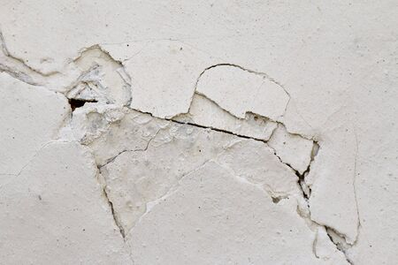 weatherworn: Cracked wall - grunge texture Stock Photo