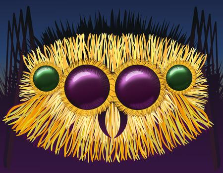 arachnoid: Huge hairy spider