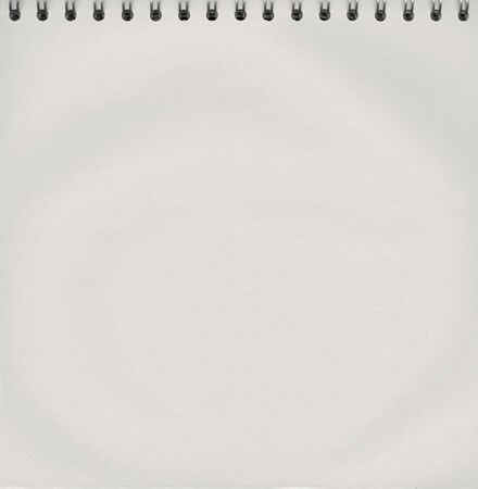 spiral binding: Notepad with a spiral binding Stock Photo