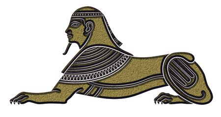 ancient creature: Sphinx - mythical creature of ancient Egypt