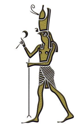 horus: Dios del Antiguo Egipto - Horus