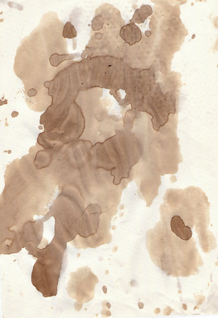 spat: Old grunge paper with blobs
