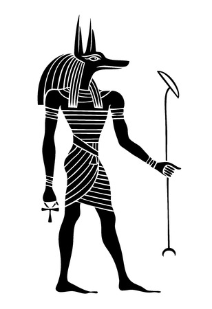afterlife: Anubis - God of Ancient Egypt - God of funerals, death, the dead and the afterlife