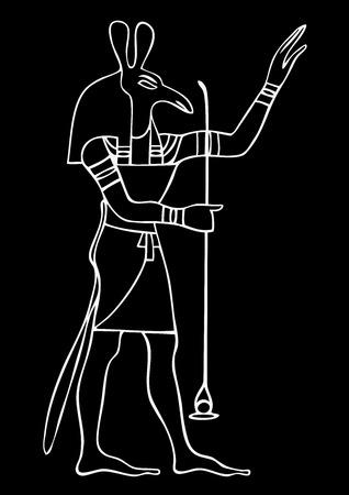 Set - God of ancient Egypt