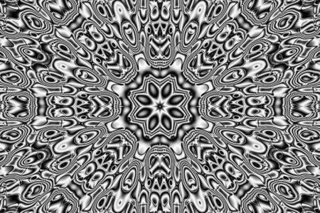 opt: Abstract pattern - kaleidoscopic pattern