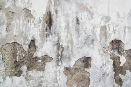 weatherworn: Old cracked and eroded plaster - grunge texture
