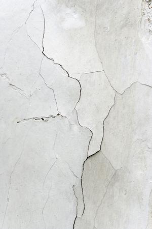 weatherworn: Detail of the Cracks In Plaster - Grunge Texture