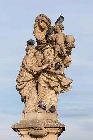 聖アンの像, カレル橋