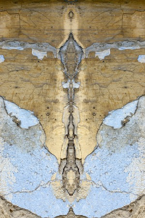 Old plaster with cracked paint - grunge texture - digitally altered