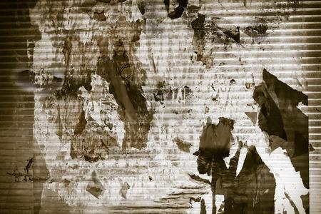 Chaotic urban industrial background - grunge extravagant background