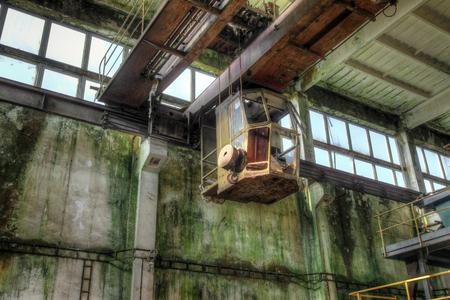 Abandoned iron ore mine in the Ore Mountains, Czech Republic Reklamní fotografie