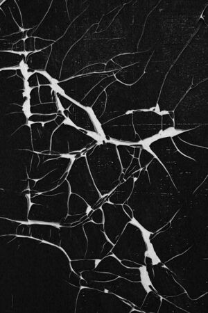 Cracked and peeled surface - grunge cracks texture - detail 스톡 콘텐츠