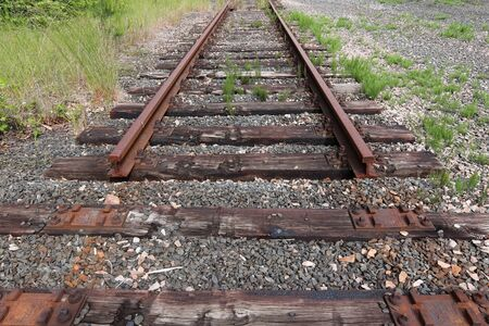 End of the old railway line - blind track