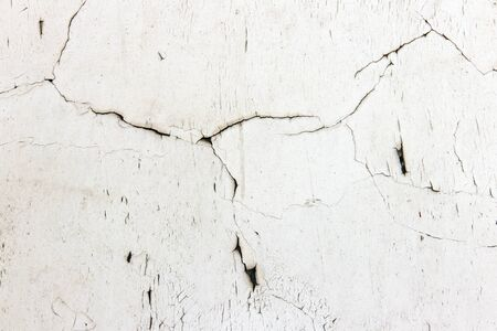 Detail of the fine cracks in the paint - grunge texture Stock Photo