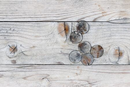 Detail of the wood texture with knots - knots in wood