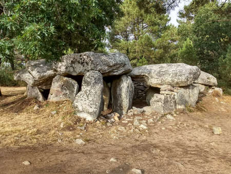 Mane Braz is a Megalithic tomb located 2 km southeast of Erdeven in Brittany, France