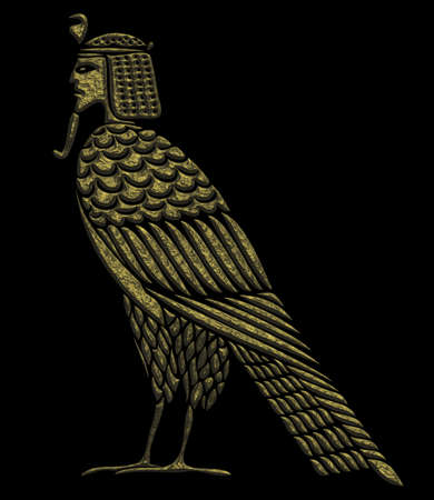 Egyptian mythical creature - bird of souls