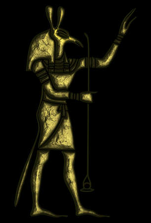 God of Ancient Egypt - Set - Seth - god of storms; later became god of evil; darkness; chaos and desert and patron of Upper Egypt