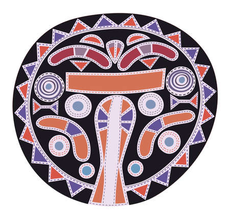 Abstract pattern - African tribal art