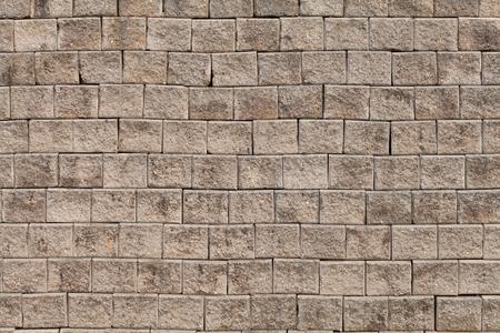 brick kiln: Wall of bricks