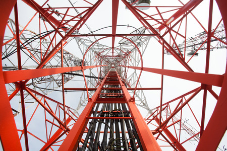 transmit: Telecommunication tower. Used to transmit television signals.