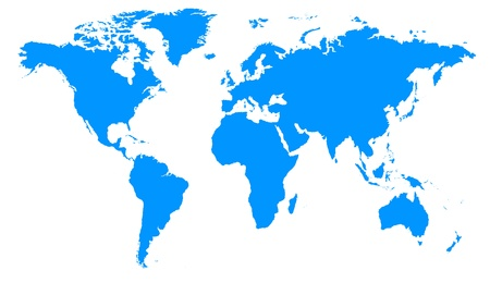 represents: image that represents the detailed map of the world