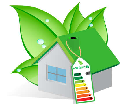 production of energy: Ecological house