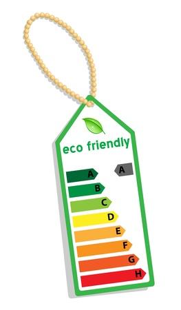 Energy Label Stock Vector - 17362420
