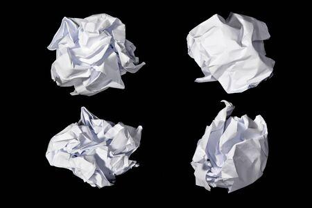Papierrolle Abfall