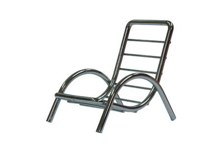 metalic: Clean Look Metalic Modern Chair