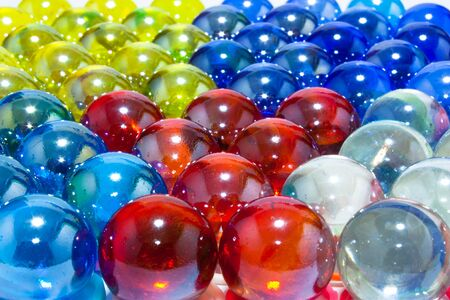 crystal background: Beautiful Colorful Crystal Balls Background