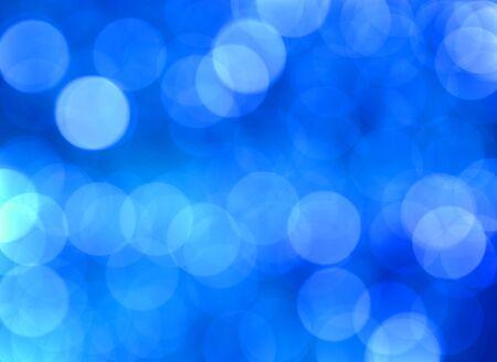 luz natural: Big Blue Efecto Bokeh Proceso De Gotitas En La Hoja Foto de archivo