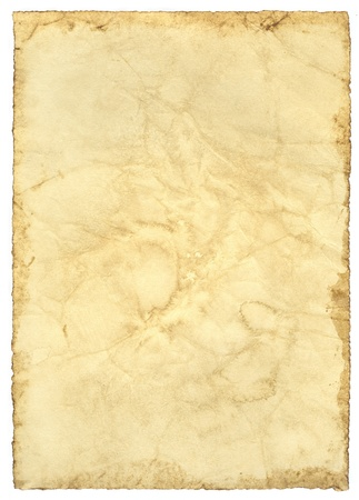 Antique old paper photo